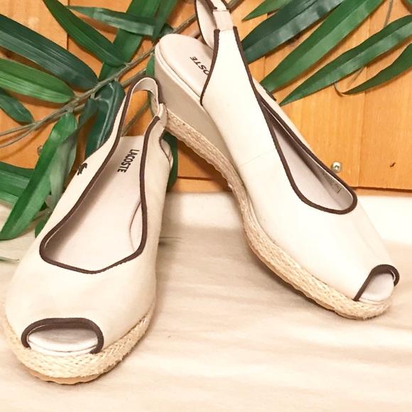 Lacoste Shoes - Lacoste Wedges Sandals Calavante Espadrilles